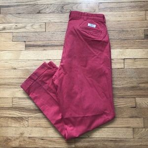 Polo by Ralph Lauren Red Chinos 36